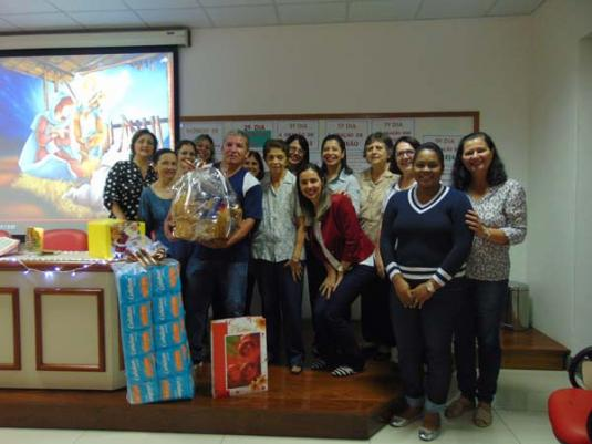 Novena de Natal do Departamento Administrativo do CENSA